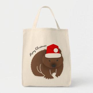 Bolsa Tote Natal Wombat