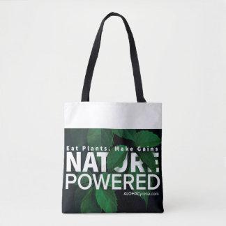 Bolsa Tote Natureza psta. Coma plantas. Faça ganhos