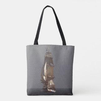 Bolsa Tote Navegando a sacola alta do mar do oceano do navio