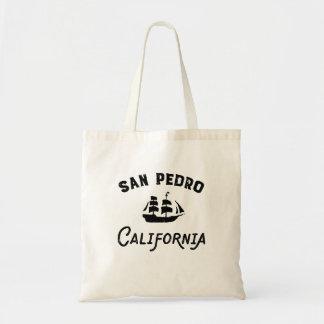Bolsa Tote Navigação alta do navio de San Pedro Califórnia