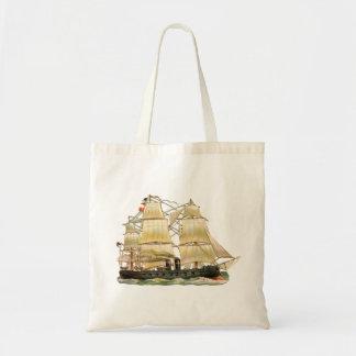 Bolsa Tote Navio antigo
