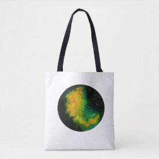 Bolsa Tote Nebulosa da galáxia, saco original do design