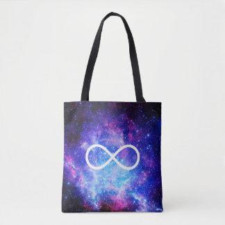 Bolsa Tote Nebulosa do símbolo da infinidade