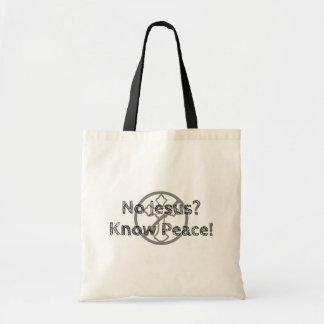 Bolsa Tote Nenhum Jesus? Saiba a paz!