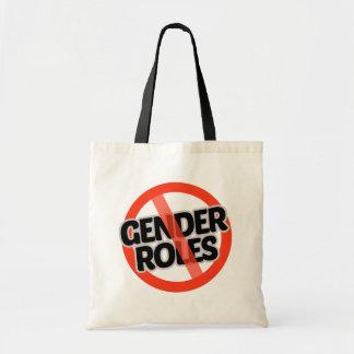 Bolsa Tote Nenhum papel do género - -