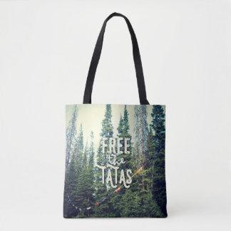 Bolsa Tote Nenhuns sutiãs permitidos na floresta