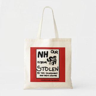 Bolsa Tote NHS está sendo roubado