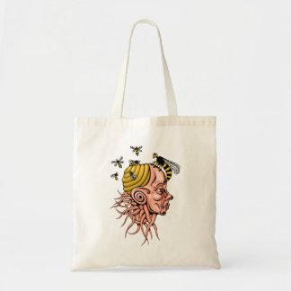 Bolsa Tote ninho da vespa - design principal da forma