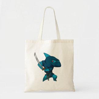 Bolsa Tote Ninja do tubarão