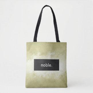 Bolsa Tote nobre. Impressão completo customizável