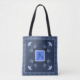 Bolsa Tote Noite azul personalizada