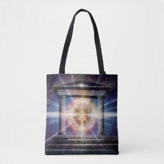 Bolsa Tote Noite do templo do coração H111