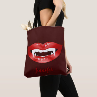 Bolsa Tote Nome ilustrado e feito sob encomenda da boca