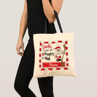 Bolsa Tote Nome impertinente ou agradável do saco | DIY do
