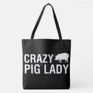 Bolsa Tote Nós amamos porcos