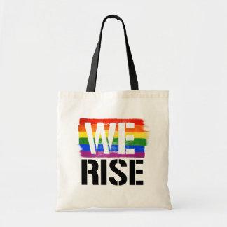 Bolsa Tote Nós aumentamos - orgulho de LGBTQ -- - Direitos de