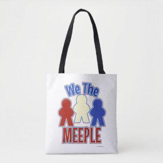 Bolsa Tote Nós o jogo do Tabletop de Meeple