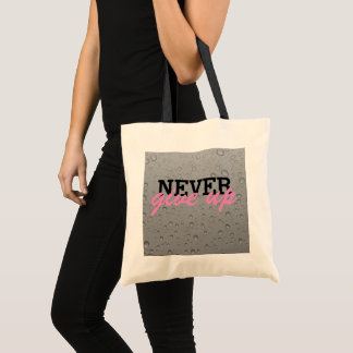 Bolsa Tote Nunca dê acima a sacola