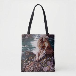 Bolsa Tote Nunca um saco da sereia da noiva