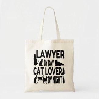 Bolsa Tote O advogado ama gatos