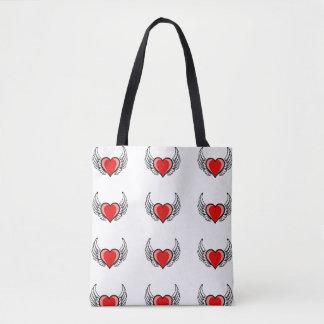 Bolsa Tote o amor sobe