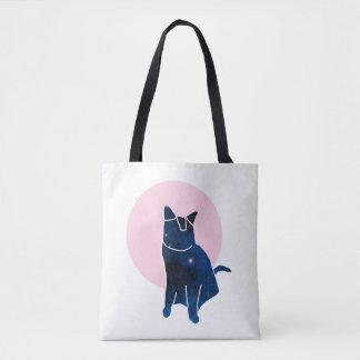 BOLSA TOTE O ANIMAL DE ESTIMAÇÃO - CAT DA GALÁXIA