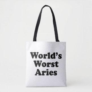 Bolsa Tote O Aries o mais mau do mundo