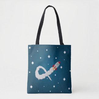 Bolsa Tote O astronauta só