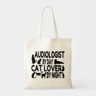 Bolsa Tote O Audiologist ama gatos