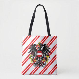 Bolsa Tote O austríaco listra a bandeira