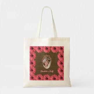 Bolsa Tote O bebé floral de serapilheira | cria sua própria
