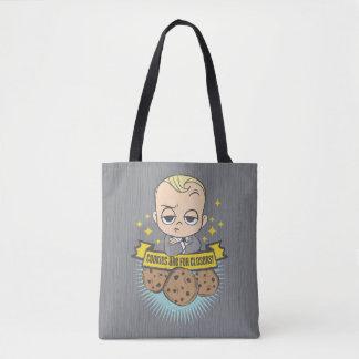 Bolsa Tote O bebê & os biscoitos do bebê | do chefe são para