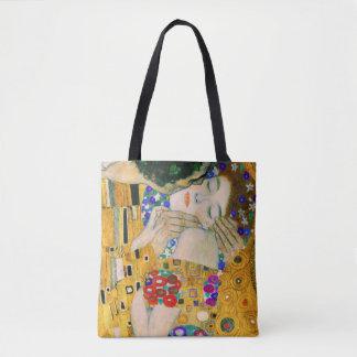 Bolsa Tote O beijo por Gustavo Klimt