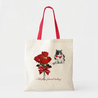 Bolsa Tote o bolsa:  Felix, o gato, no dia dos namorados