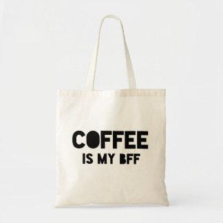 Bolsa Tote O café engraçado é minha indicação corajosa da pia