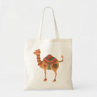 Bolsa Tote O camelo étnico