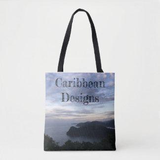 Bolsa Tote O caribe projeta o saco de compras