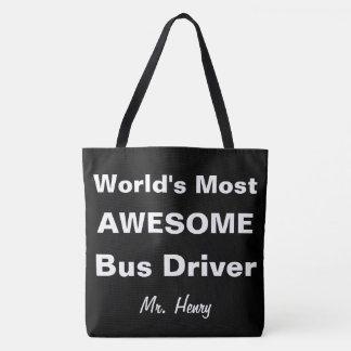 Bolsa Tote O condutor de autocarro o mais impressionante do