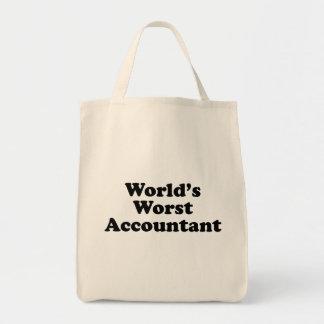 Bolsa Tote O contador o mais mau do mundo
