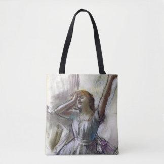 Bolsa Tote O dançarino que estica perto desgaseifica