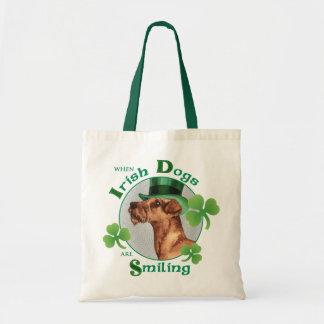 Bolsa Tote O dia Terrier irlandês de St Patrick