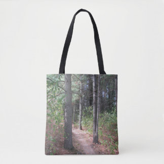 Bolsa Tote O dobro das árvores de floresta tomou partido