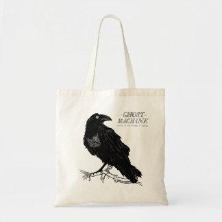 """Bolsa Tote O fantasma em minha sacola do """"corvo"""" da máquina"""