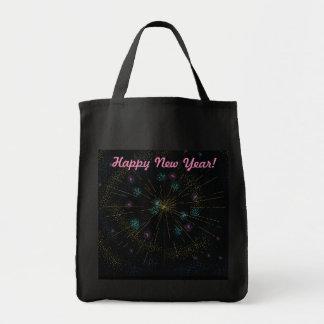 Bolsa Tote O feliz ano novo!