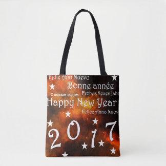 Bolsa Tote O feliz ano novo 2017