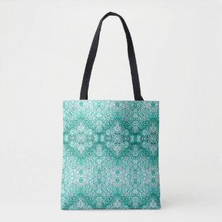 Bolsa Tote O floco de neve verde de Lillien