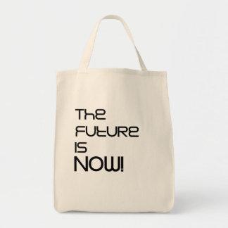Bolsa Tote O futuro é agora! Sacola