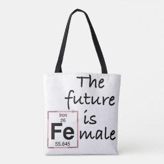 Bolsa Tote O futuro é o homem [Fe]