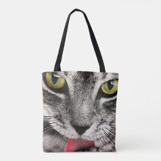 Bolsa Tote o gato o mais bonito no mundo