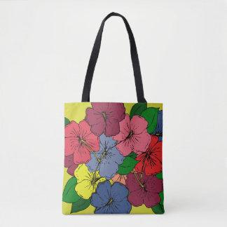 Bolsa Tote O hibiscus floresce #8